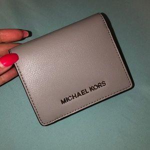 Micheal Kors Grey Wallet